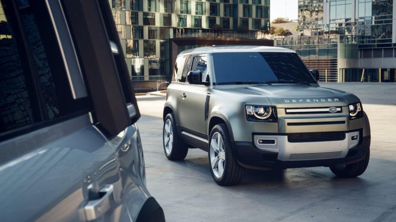 Land Rover Defender nu ook te bestellen als 90 en grijs kenteken