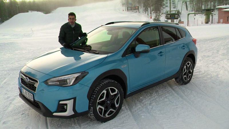 Rijden in Lapland met Subaru's e-Boxer modellen!