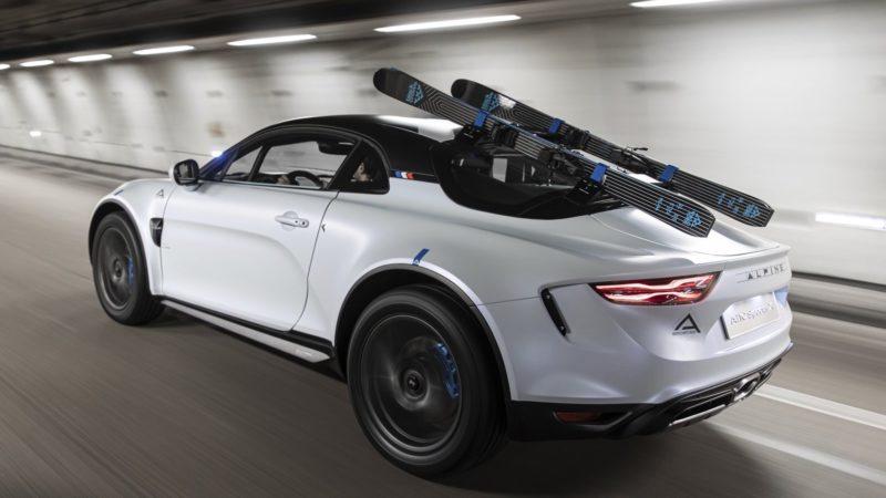 Bijzonder concept voor de wintersport: Alpine A110 SportsX Concept