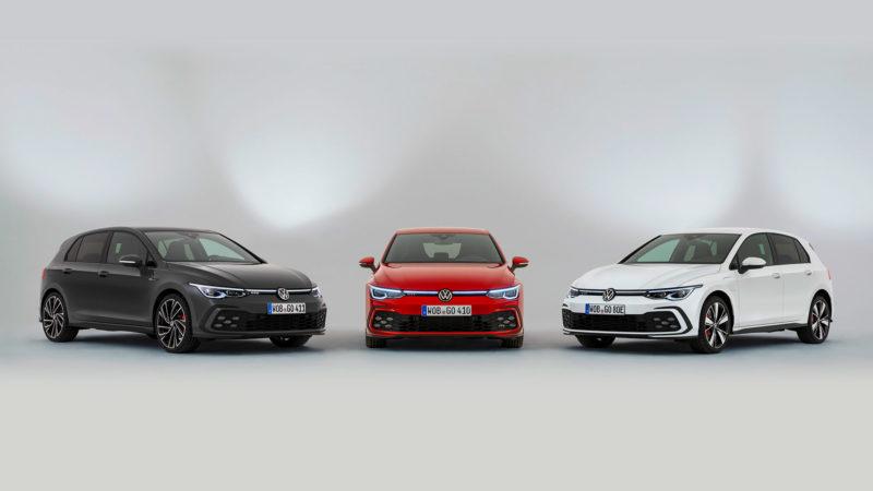 Volkswagen lanceert sportieve drieling: Golf GTI, GTE en GTD