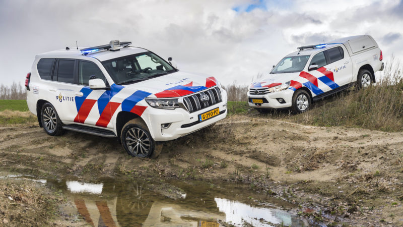 Toyota terreinwagens voor Nationale Politie