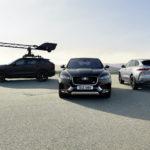 Jaguar F-PACE en nieuwste Canon EOS-systeemcamera op topsnelheid