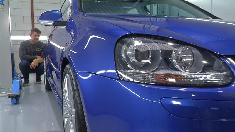 Stipt Polish Point: Rick neemt de populaire Golf R32 onder handen