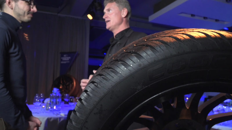 David Coulthard en Robert Doornbos over de juiste band