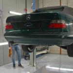 Stipt Polish Point: Mercedes-Benz E-Klasse cabriolet tot in de puntjes verzorgd