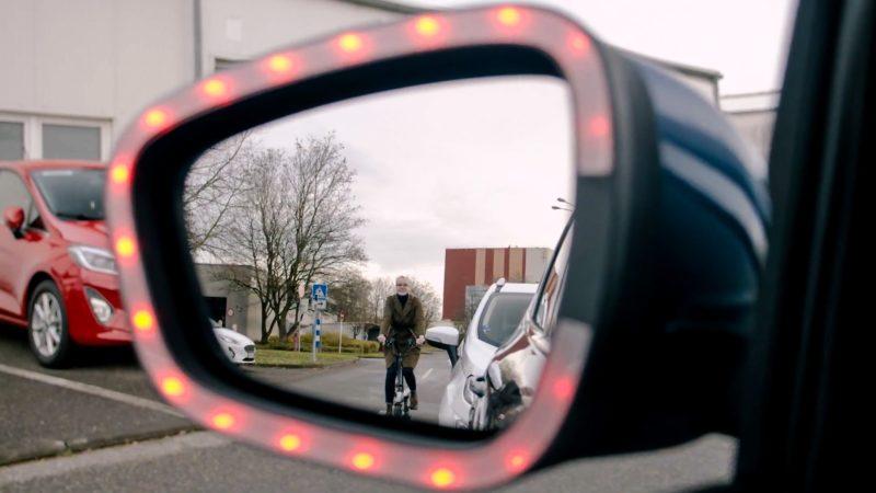 Technologie waar fietsers al lang op wachten: waarschuwende zijspiegel