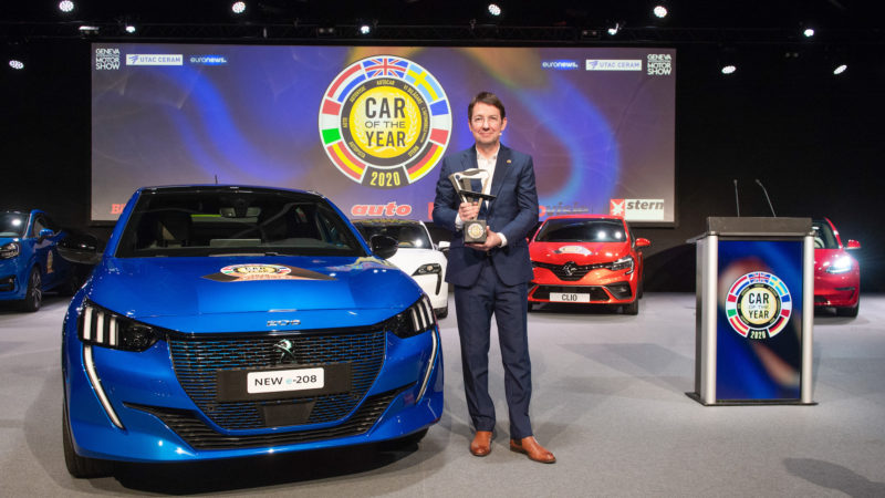 Peugeot 208, Car of the Year 2020
