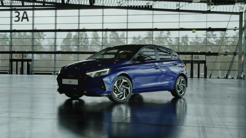 Hyundai toont highlights nieuwe i20 in drie video's