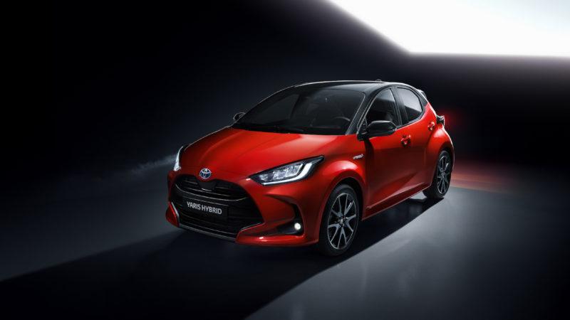 Toyota geeft prijzen nieuwe Yaris vrij