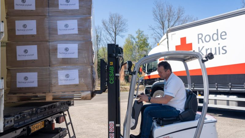 MG doneert één miljoen mondkapjes in Europa als reactie op dringende behoefte aan medische hulpmiddelen