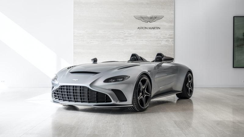 Aston Martin V12 Speedster nu in Nederland
