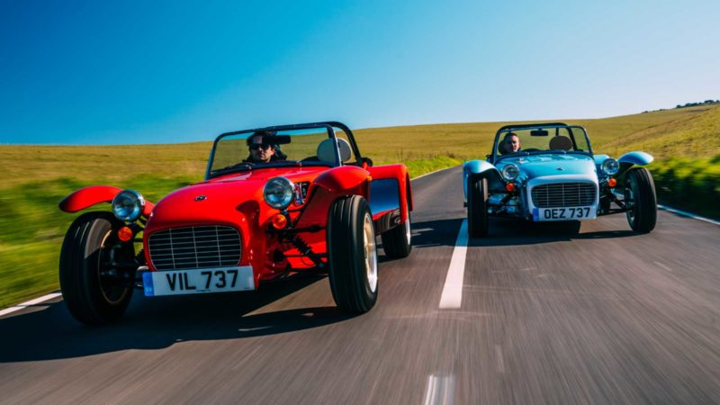 Caterham presenteert retro-tastische Super Seven 1600