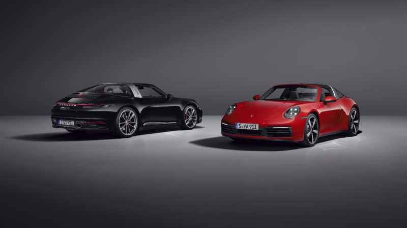 Nieuwe Porsche 911 Targa maakt trio compleet