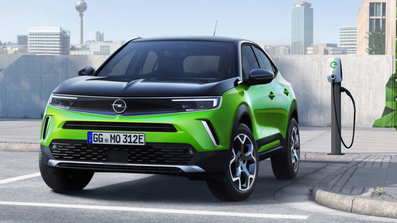 Dit is de nieuwe, elektrische, Opel Mokka