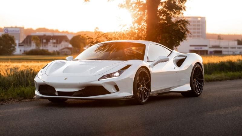 Voor wie een standaard Ferrari F8 Tributo nog niet bijzonder genoeg is: NOVITEC
