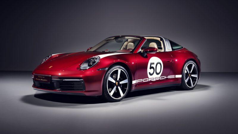 Verleden en heden komen samen in Porsche 911 Targa 4S Heritage Design Edition