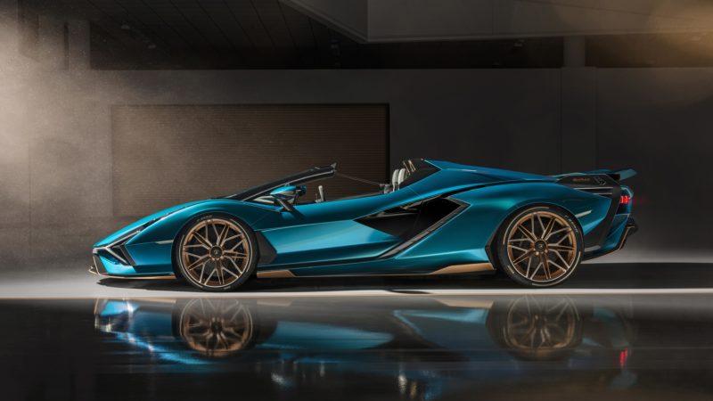 Net onthuld en nu al uitverkocht; Lamborghini Sián Roadster