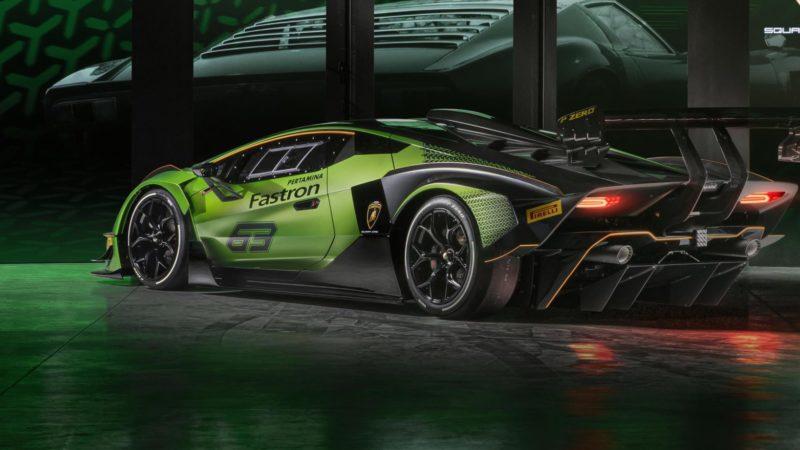 Gelimiteerd én alleen voor het circuit; Lamborghini Essenza SCV12