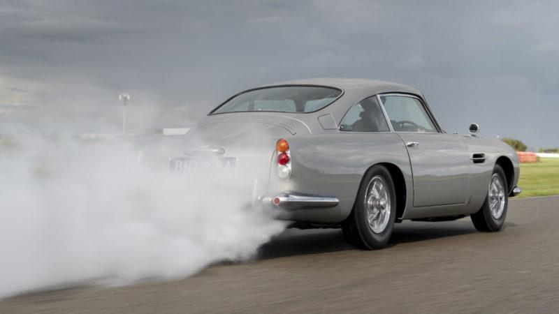 Zo zien de gadgets van de 'nieuwe' James Bond DB5 eruit!