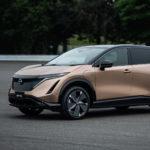 Dit is de volledig elektrische coupé crossover van Nissan, de Ariya