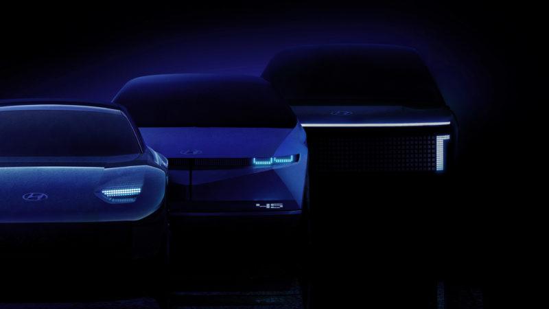 Hyundai kondigt IONIQ aan als submerk voor volledig elektrische modellen.