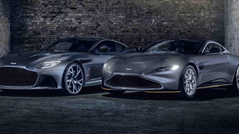 007 'Actie'-modellen van Aston Martin