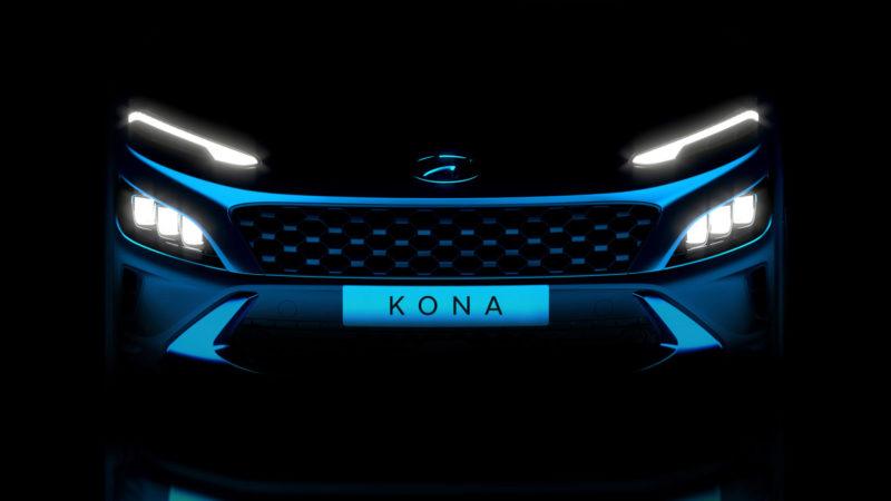 Eerste glimp vernieuwde Hyundai KONA en sportieve KONA N Line