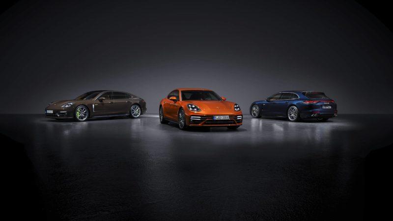 Vernieuwde Porsche Panamera: nieuwe hybride versie en nog snellere Turbo S