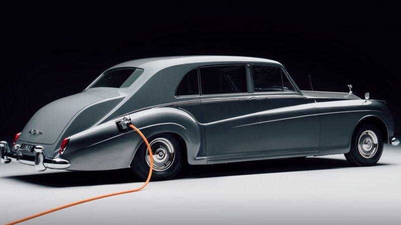 Klassiek, excentriek en elektriek – Rolls by Lunaz