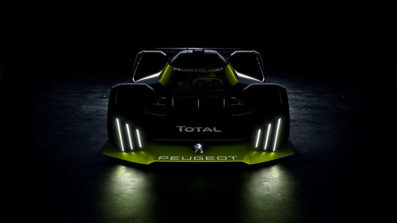 PEUGEOT en TOTAL werken aan hypercar voor Le Mans