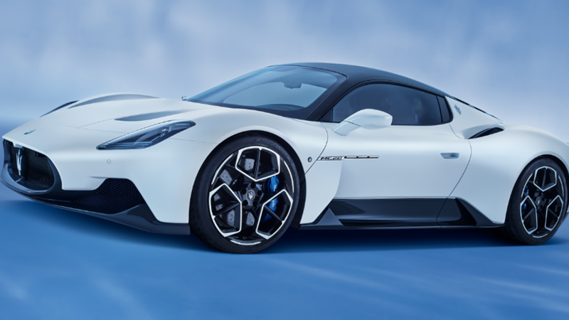 MC20: de nieuwe supersportwagen van Maserati