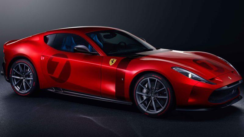 Ferrari Omologata is uniek