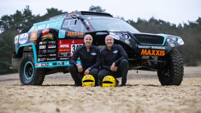 Tim en Tom Coronel gaan met #Beast347 4.0 de uitdaging aan in Dakar 2021