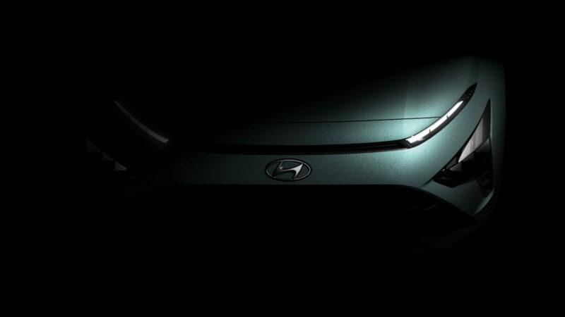 Eerste beelden van nieuwe Hyundai BAYON.