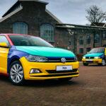 Speciale Polo geeft kleur aan Blue Monday!