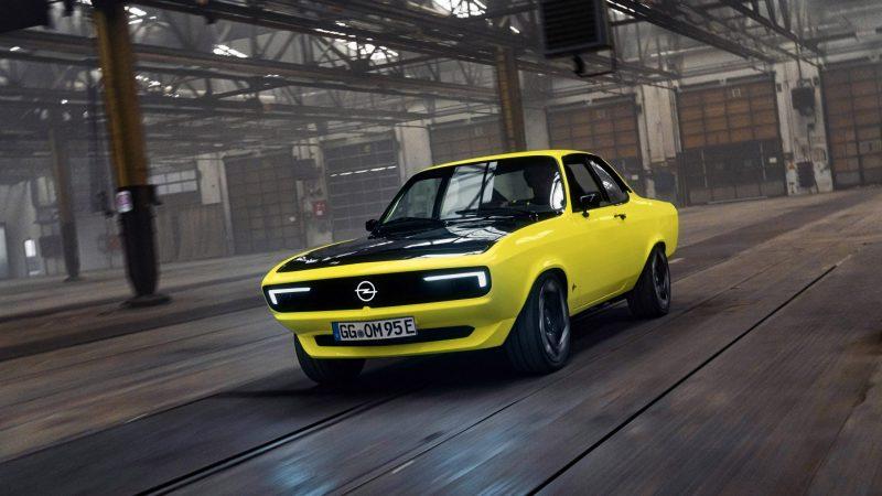 De Manta is terug: de eerste ElektroMOD van Opel