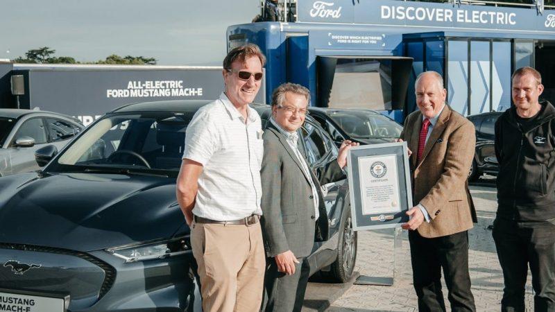 Ultra-efficiënte Ford Mustang Mach-E behaalt nog twee Guinness World Records